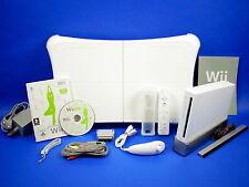 Nintendo Wii FIT Konsole mit Fitness Spiel & original Balance Board weiß #59055