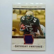 2005 UD Rookie Debut Bobby Purify Green Bay Packers Colorado Limited Jersey