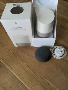 Google smart home speaker plus google home mini smart speaker bundle