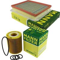 MANN-Filter Set Ölfilter Luftfilter Inspektionspaket MOL-9693988