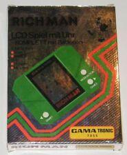 ★ GAMA TRONIC RICH MAN - Jeu Electronique / Electronic Game - En Boîte / Boxed ★