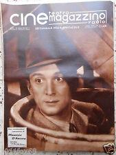 cine magazzino teatro radio cinema maurizio d'ancora italian magazine rare raro