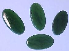 Huge Natural Jade Oval Cabs 32x16 mm NICE
