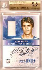 Allan Bester Graded 2008-09 ITG Superlative Autographs Plus Jersey 9.5 Gem Mint