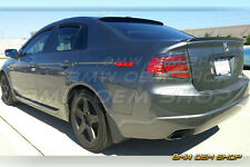COMBO PAINTED K WINDOW REAR ROOF & SK TRUNK LIP SPOILER FOR  ACURA TL 3rd  04-08