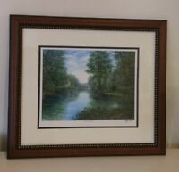 Tim Bruce Ghost Series- *GATHER AT THE RIVER*  Limited  Signed Print with SEAL