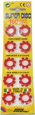 800 Toy Shot Gun Caps Pellets Refill Bullets Set Discs Cowboy Novelty Wild West