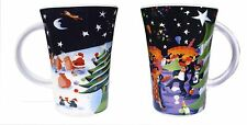 Pair (2) of Victorias World Festive Mugs - Christmas and New Year