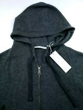 $475 Vince Men's 100% Cashmere Full Zip Hoodie Sweater XL