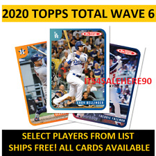 2020 Topps Total WAVE 6 Singles - YOU PICK - ALL CARDS AVAILABLE - FREE SHIPPING