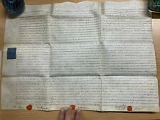 HUGE 12 MARCH 1794 1-PAGE ASSIGNEMENT VELLUM INDENTURE - TOMKINS (HEREFORD) (LL)