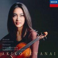 AKIKO SUWANAI-SARASATE: ZIGEUNERWEISEN. CARMEN FANTASY / DVORAK-JAPAN CD D50