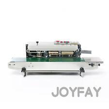 FR770 Automatic Horizontal Continuous Plastic Bag Heat Sealing Printing Machine