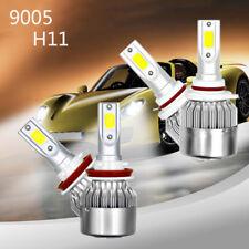 4x H11 9005 LED 2600W 390000LM Combo Headlight Kit High Low Beam Bulb 6000K New