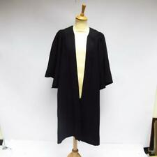 Shepherd and Woodward Black Oxford Graduation Robe Scholar Academic Gown Size 46