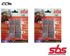 Yamaha YZF 1000 R1 2008 Radial Caliper SBS 839RS Racing Travertino frente Pastillas de freno