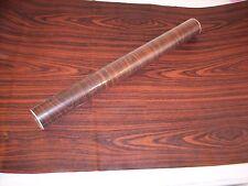 "Contact Paper Dark Oak Wood Grain Shelf Liner 17 .7"" x 54""  6.64 sq. ft."