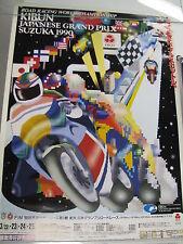 Poster FIM Kibun Japanese Grand Prix Suzuka 1990 (PBE)