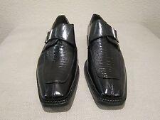 Irvine Park Monk Strap Shoes - Mens 9.5W - Black - Wide