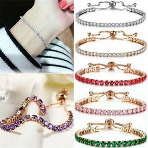 Beauty Full Sparkly Crystal Rhinestone Bracelet Bangle For Women UK Seller