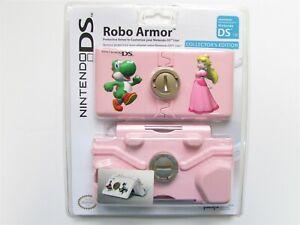 Nintendo DS Lite NDSL Yoshi Princess Peach Robo Armor PINK Protective Case Mario