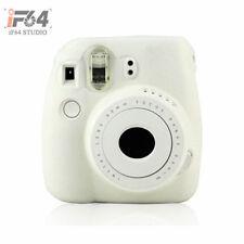 White Silicone case protect shell Camera Case For Fujifilm Polaroid Instax Mini8