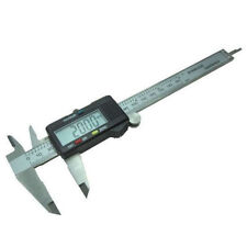 "Stainless Steel Electronic Digital LCD Vernier Caliper Micrometer 150mm 6"""