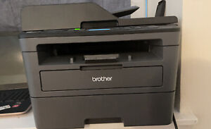 Brother DCP-L2550DW Compact Monochrome Laser Multifunction Printer - Black