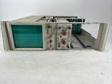 Vintage Tektronix 5111a Oscilloscope With 5a18n Dual Trace Ampl Powers On