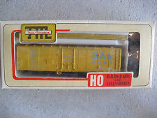 Vintage HO Scale Train Miniatures BAR RR 40' Plug Door Refrigerator Box Car NIB