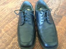 Dockers BLACK OXFORDS * 9 W * Pro Style All Motion * EUC * padded inner soles