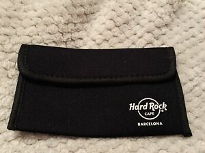 Hard Rock Cafe Barcelona Spain sunglasses case soft BRAND NEW