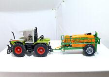 SIKU 3553 Tractor Xerion 3000 With 2563 Amazone Ug 4500 Nova