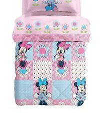 Quilt, Winter Duvet Microfiber Caleffi Disney Minnie Patchwork Single