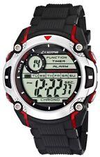 Calypso Uhr by Festina K5577/4 schwarz rot Digital 10 ATM Datum