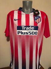 Camiseta oficial casa Atlético Madrid 2018/2019 Lemar firmada signed