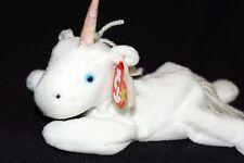 Ty Beanie Mystic Unicorn 1994 1993 w/ Tag ERRORS Plush Toy RARE PE NEW RETIRED