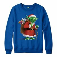 Star Wars Christmas Jumper, Yoda Santa Warrior Festive Gift Adult & Kids Jumper