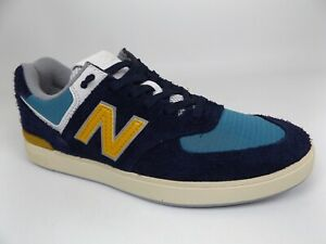 New Balance 574 Mens Casual Shoes Sneakers All Coasts Blue SZ 6.5 M.   AM574MGN