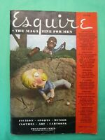 ESQUIRE MAGAZINE JUNE 1934 VINTAGE CLASSIC BOOK FOR MEN SPORTS HUMOR CARTOONS