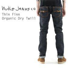 Nudie Jeans Thin Finn Organic Dry Twill N772 32W 30L ✅