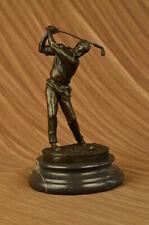 Ben Hogan Male GOLFER Sports Memorabilia Golf Club Art PGA Bronze Marble Figure