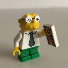 Genuine Lego Minifigure - Simpson's Series 2 - Hans Moleman -2015 -COLSIM2-10