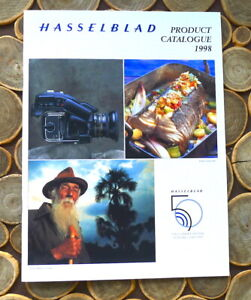 Hasselblad Product Catalogue 1998 - English 40-Pages - PERFECT LN