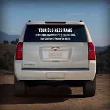 Custom Business Name Decal Window Vinyl Sticker Lettering Car Truck Glass