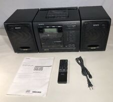 Vintage Sony CFD-600 6 CD Changer AM/FM Radio Stereo Boombox