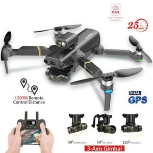Drone 4k 5G UHD Professional GPS Dual Camera Laser Obstacle Avoidance WIFI 3Axis