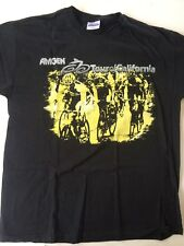 CYCLING,AMGEN TOUR OF CALIF.T-SHIRT,MENS LG,SIZE LG,NEW NEVER WORN,