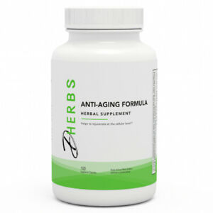 Dherbs Anti-Aging Formula, 100-Count Bottle