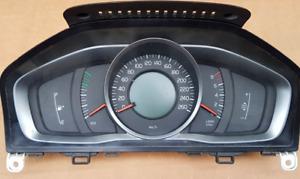 volvo s60 xc60 v60 speedometer gauges instrument wo/virtual screen 2014-18 KPH